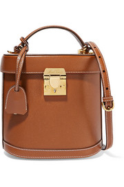 Benchley leather shoulder bag