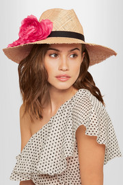Eugenia Kim Ailin embellished straw hat