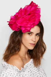Ardelia silk-organza fascinator