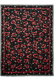 Marc Jacobs Painted printed woven scarf