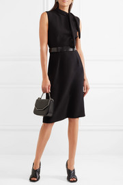 Bottega Veneta Belted crepe dress