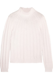 Bottega Veneta Ribbed cashmere turtleneck sweater