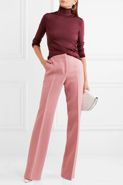 Bottega Veneta Wool-crepe wide-leg pants