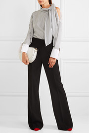 Bottega Veneta Crepe wide-leg pants
