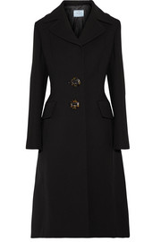 Prada Wool-crepe coat