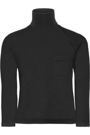 Prada Cropped wool turtleneck sweater