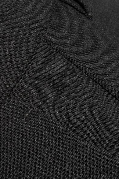 Prada Verkürzte Hose mit schmalem Bein aus Stretch-Wolle