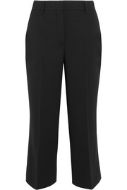 Prada Cropped wool-blend wide-leg pants