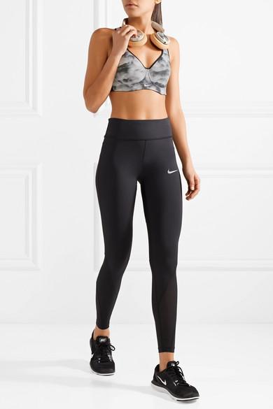 f0c0a7adf7dc0 Nike | Pro Rival mesh-trimmed printed Dri-FIT stretch sports bra ...