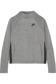 Nike Tech Fleece cotton-blend jersey sweatshirt