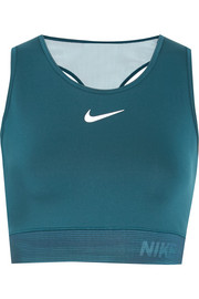 Nike HyperCool cropped mesh-paneled  Dri-FIT stretch-jersey tank