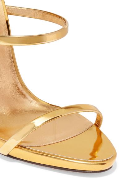 Billig Bester Laden Zu Bekommen Giuseppe Zanotti Harmony Sandalen aus Metallic-Leder Günstig Kaufen Schnelle Lieferung Billig Verkaufen Low-Cost Freies Verschiffen Visum Zahlung kd62C0W