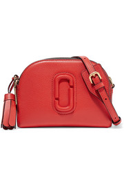 Marc Jacobs Shutter textured-leather shoulder bag