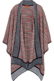 Missoni Crochet-knit wool-blend wrap