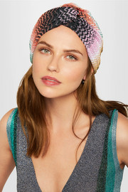 Missoni Mare crochet-knit turban