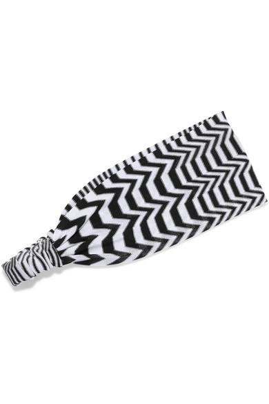 Missoni - Mare Crochet-knit Headband - Black