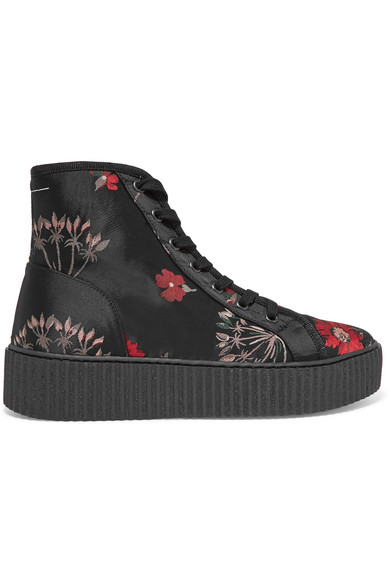 Mulberry Floral Print High-Top Sneakers sale low price fee shipping clearance online amazon pre order for sale cheap pick a best x9kCz
