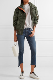 rag & bone The Capri distressed mid-rise skinny jeans