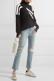 rag & bone Marilyn distressed high-rise skinny jeans