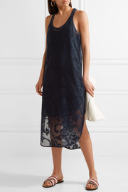 rag & bone Stella crocheted cotton-blend lace midi dress