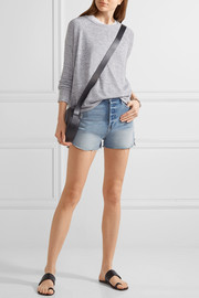 rag & bone Camden mélange stretch-jersey top