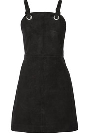 rag & bone Croft suede mini dress