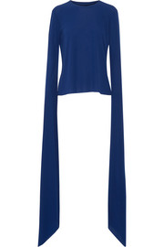 Norma Kamali Stretch-jersey top
