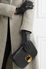 Bottega Veneta Intrecciato leather gloves
