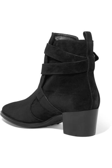 Tod's Ankle Boots aus Veloursleder