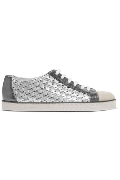 Sneakers con design color-block - White Bottega Veneta t0qQFSt