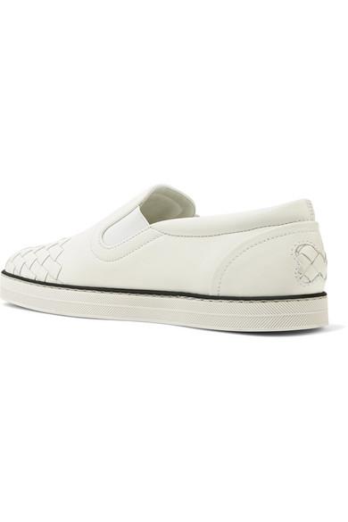 Bottega Veneta | Sneakers aus aus Sneakers Intrecciato-Leder 812437