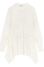 Fendi Bow-detailed cashmere sweater