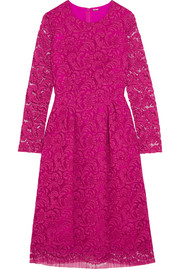 Adam Lippes Corded cotton-blend lace dress