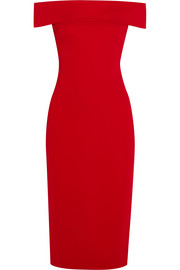 Cushnie et Ochs Layla off-the-shoulder stretch-cady dress