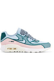 Air Max 90 Ultra 2.0 SI embroidered canvas and mesh sneakers