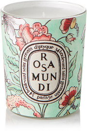Diptyque Rosa Mundi scented candle, 70g