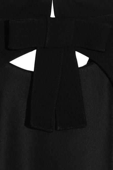 Miu Miu Minikleid aus Cady mit freier Rückenpartie