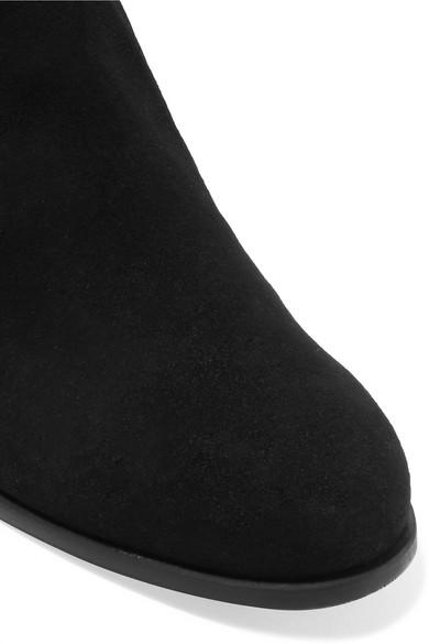 Stuart Weitzman Boots Tieland suede over-the-knee boots