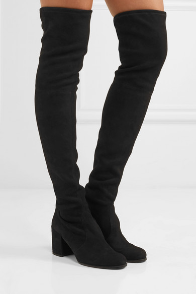 0ef1db9129b Stuart Weitzman. Tieland suede over-the-knee boots