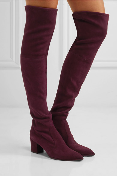 f0350b12987 Stuart Weitzman. Thighland suede over-the-knee boots