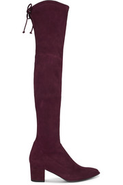 Thighland suede over-the-knee boots