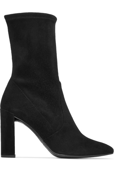 Leather and Suede Ankle Boots Stuart Weitzman t0dlj4p3a