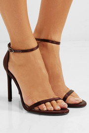 NudistSong satin sandals