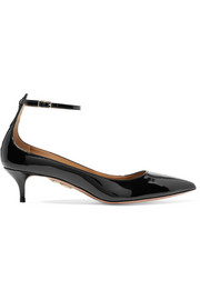 Kisha patent-leather pumps