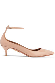 Aquazzura Kisha Pumps aus Lackleder