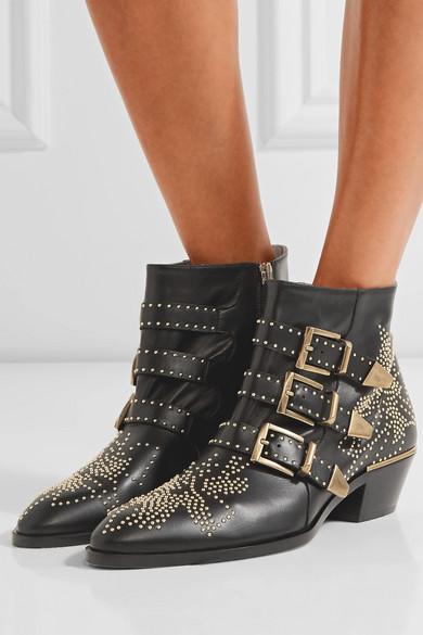 f85810af7d3b2 Susanna studded leather ankle boots