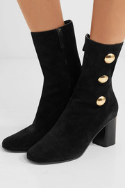 Orlando embellished suede ankle boots