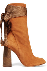 Chloé Harper suede ankle boots