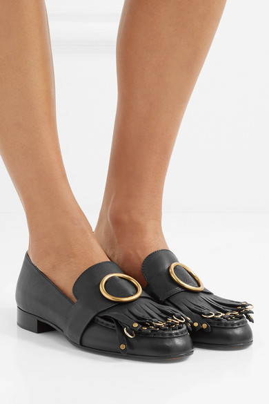 Chloé Olly fringe loafers outlet WGEH6