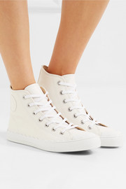 Chloé Kyle leather high-top sneakers